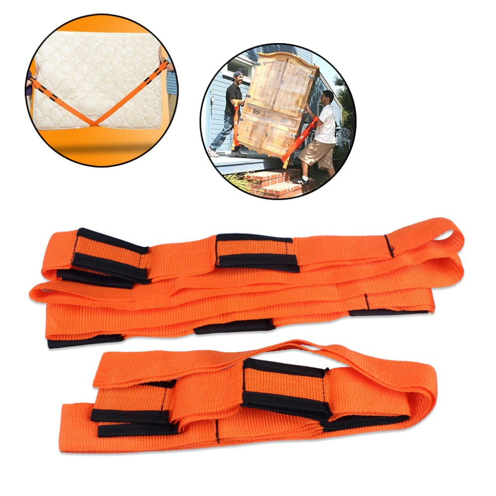1 X Set Of 2 Weight Lifting Moving Belt For All Use Furniture Or Any Electronic Equipment