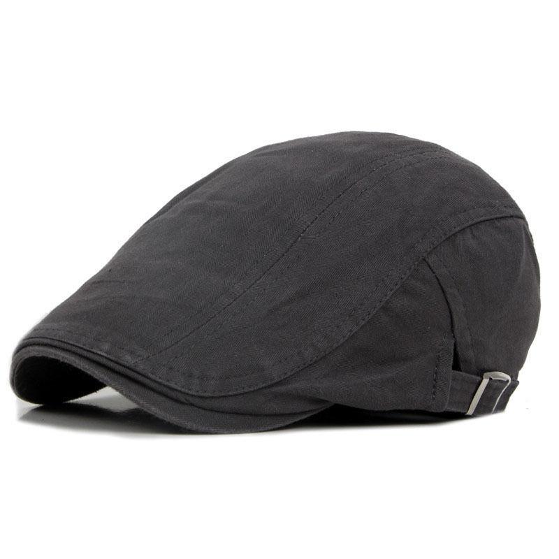 1d81df36 Ayarlanabilir Bere Kapaklar Açık Güneş Nefes Kemik kasketli şapka Bayan  Erkek Balıksırtı Katı Düz Bere Şapka Kap ~ Hot Sale May 2019