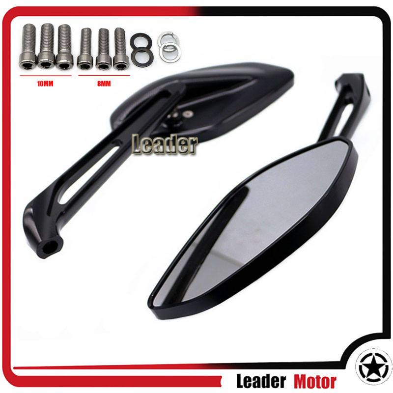 For YAMAHA FZ1 FZ6 FZ8 FZ 1 FZ 6 FZ 8 Motorcycle Accessories Rearview Side Mirrors Rear View Rearview Mirrors for yamaha r1 r6 fz zuma motorcycle cruiser freeshipping silver carbon fiber rearview mirrors