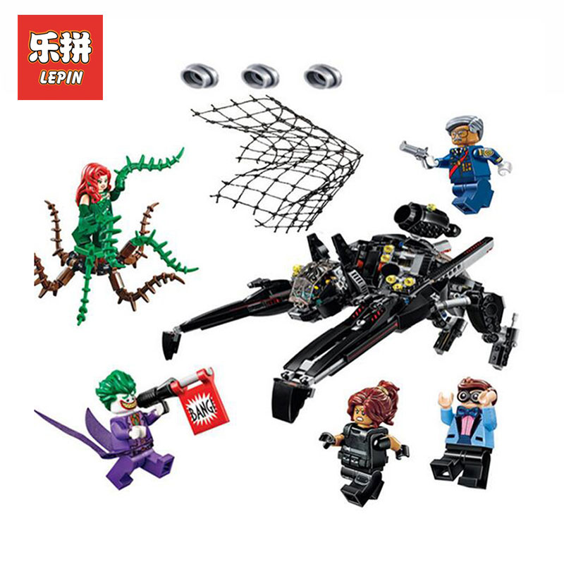 Lepin 07056 Genuine Movie Series Scuttler Bat Spaceship model Building kits Blocks Bricks Education Toys gift LegoINGlys 70908