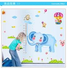 Measure Height Gauge baby Wall Sticker bedroom wall sticker for kids rooms stickers Decor Wall Decals