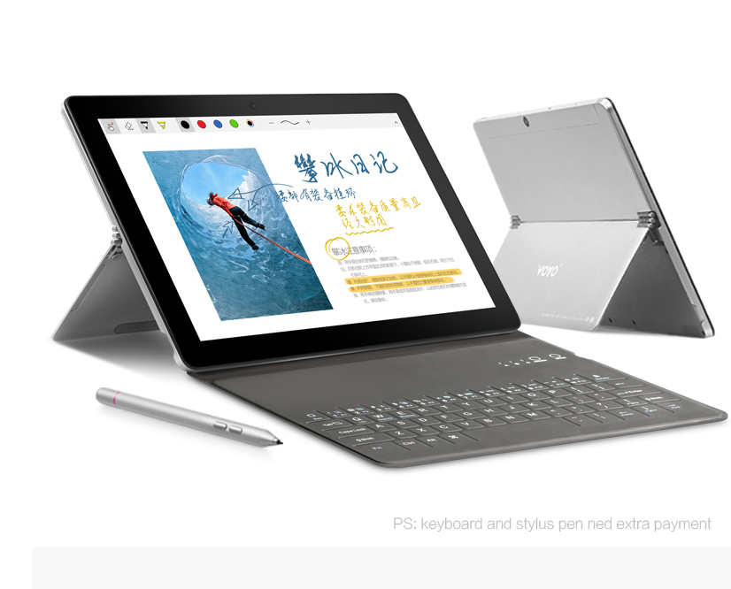 VOYO i8max MT6797 X20 Deca Core 4 GB RAM 64 GB ROM android tablet PC Double 4G 10.1 pouces appel téléphonique comprimés