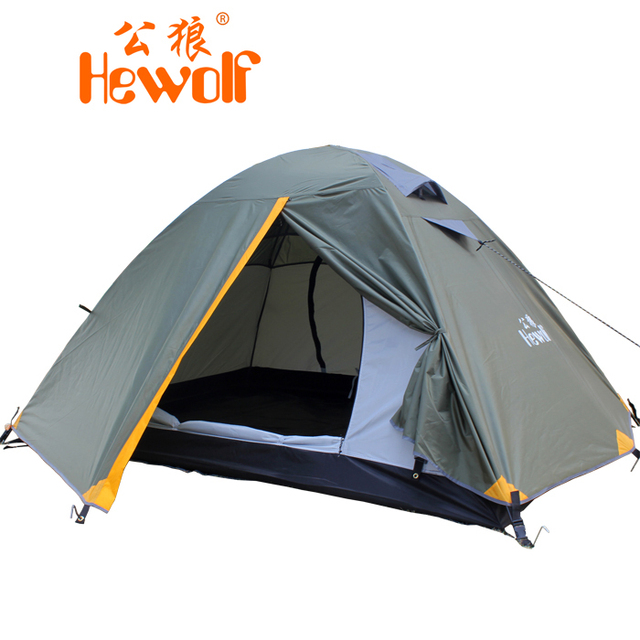 Base C& Tent 2 Person Outdoor Backpacking Four Seasons Tent Field C&ing Tent Waterproof Windproof Tabernacle  sc 1 st  AliExpress.com & Base Camp Tent 2 Person Outdoor Backpacking Four Seasons Tent ...