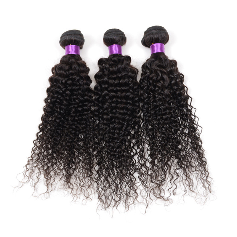 100g Peruvian Virgin Real Human Hair Extensions Weave kinky curly hair 1 Bundle