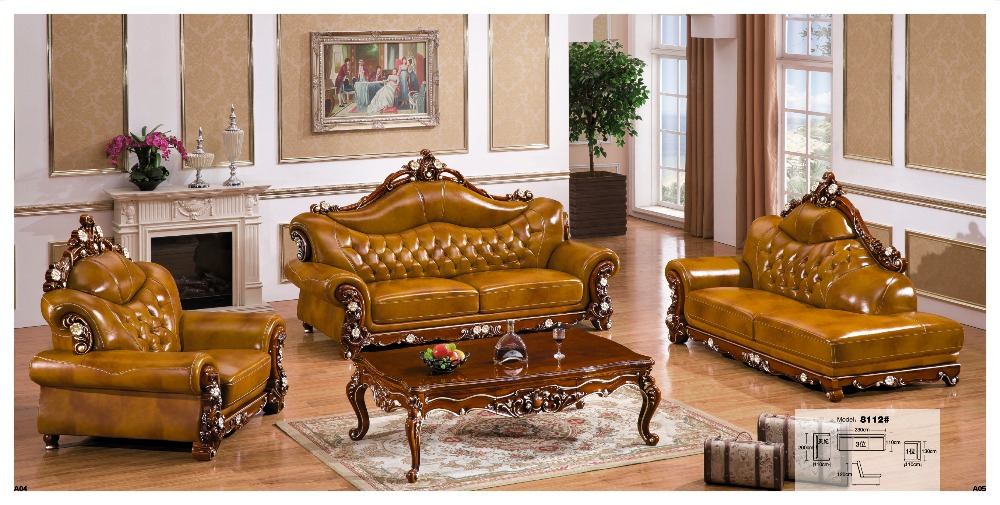 Popular Modern Leather Living Room Furniture Buy Cheap Modern