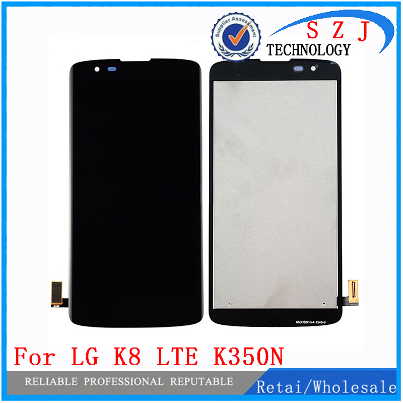 New For LG K8 LTE K8 4G K350N K350E K350DS LCD Display + Touch Screen Digitizer Assembly Free shipping free shipping new lcd display screen for olympus pen e m1 e p5 em1 ep5 repair part touch