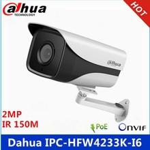 Dahua IPC HFW4233K I6 2MP Starlight Camera IP67 IR 150M DH IPC HFW4233K I6 IP camera with bracket