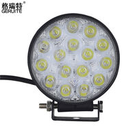 2PCS 48W LED Work Light For Indicators Motorcycle Driving Offroad Boat Car Tractor Truck 4x4 SUV