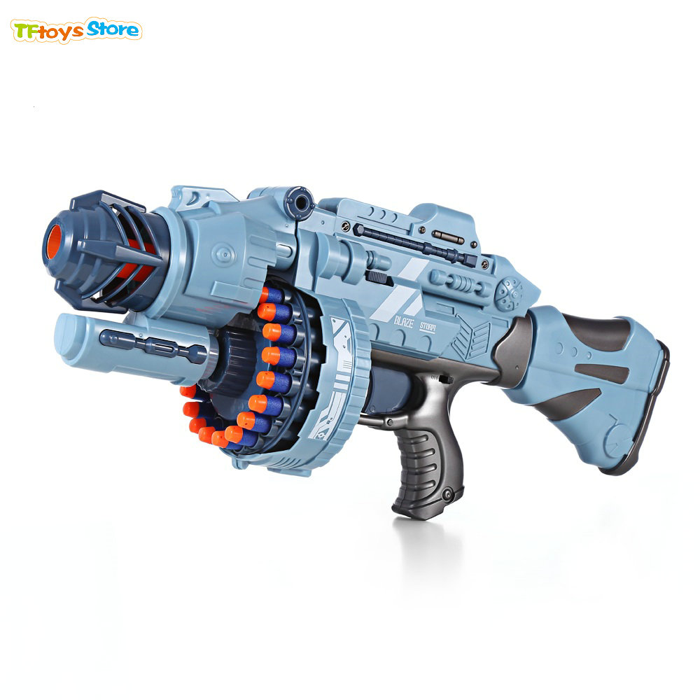 Electric Toy Gun Blaster Airsoft Pistol With 20pcs Soft
