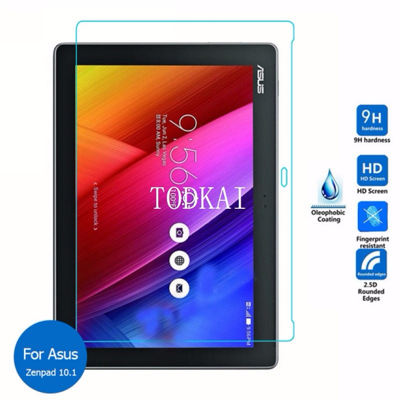 Tempered Glass Screen protector For Asus Zenpad 10 z300 z300m Z301MFL Z301ML Z301 10.1 tablet Protective Film screen guard hd clear lcd screen guard shield film protector for 10 1 asus tf300 tablet pc 56506