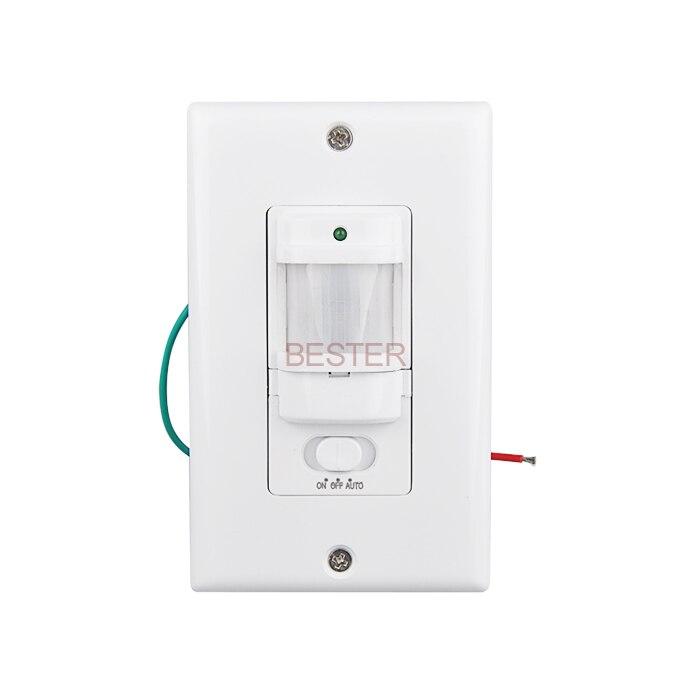Automatic Light Switch: Aliexpress.com : Buy Sensky Wall Mounted Motion Sensor Automatic PIR  Infrared Sensor Light Switch 9m Max (6pcs BS033C) from Reliable light  sensing switch ...,Lighting