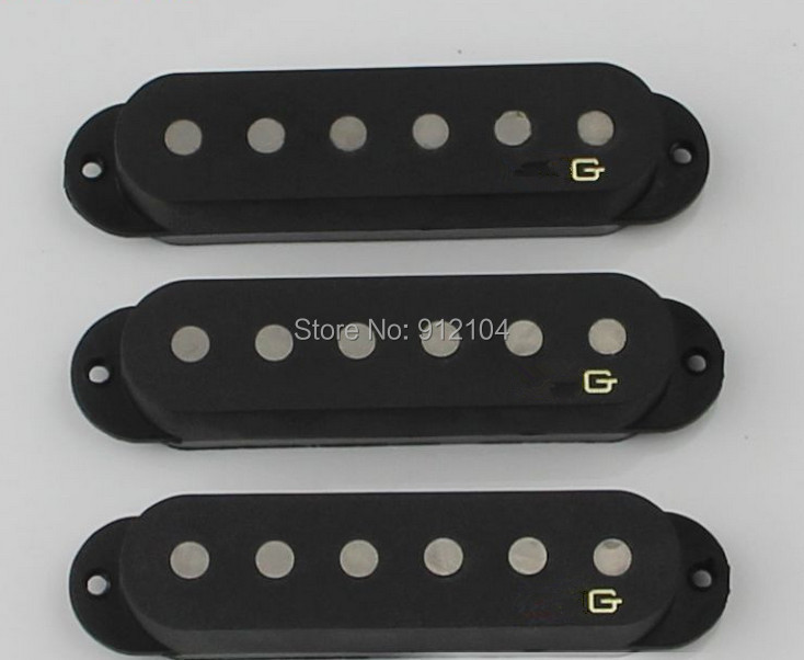 free shipping high quality new  electric guitar  pickup in black SSS  E-08-1