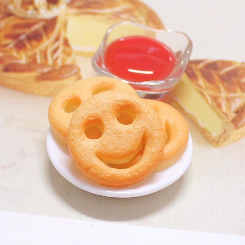 resin Smile Fried potato