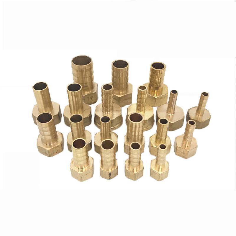 Rohrverbindungsstücke GüNstig Einkaufen 6/8/10/12/14/16mm Schlauch Barb Schwanz 1/8 1/4 1/2 3/8 3/4 bsp Buchse Messing Barb Rohr Fitting Pagode Wasser Rohr Fitting Sanitär