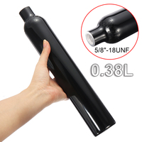 3000 PSI Aluminum Tank Air Cyclinder Bottle For Paintball PCP 0.38L 5/8 18UNF