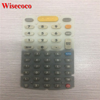 Original Used 48 Keys Rubber Keypad Ruben Keyboard For Motorola Symbol MC3000 MC3090 MC3070 Series In