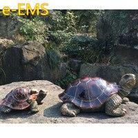 Simulation Animal Tortoise Creative Resin Craftwork Statue Countryside Villa Garden Decoration G2454