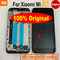 Сенсорный ЖК-дисплей Mi5x с рамкой для Xiaomi; Mi A1 MiA1 MA1 5X M5X