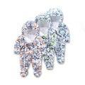 Newlbaby menina menino infantil do bebê recém-nascido vestido de Macacão de algodão macacão de Inverno Com Capuz outwear terno conjuntos de roupa Criança