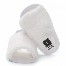 Baby Shoe Pure Color Toddler Shoes Summer Soft Bottom Relaxation Flock Cloth  Breathe First Walkers