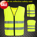 EN471 High visibility  clothing safety  hi vis vest  flourescent yellow reflective safety vest