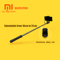 Original Xiaomi Selfie Stick Monopod Shutter Holder Extendable Handheld Wired Selfie Stick Shutter For IOS Android