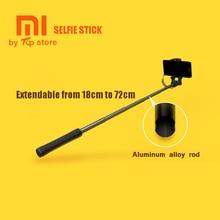 Original Xiaomi Xiomi Mi Selfie Stick Extendable Selfiestick Handheld Wired Monopod for IOS Android SmartPhone Pau de Selfie