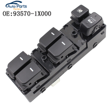 New High Quality Front Left Door Glass Switch Fit For FORTE Cerato 93570-1X000 935701X000 Power Window Switch