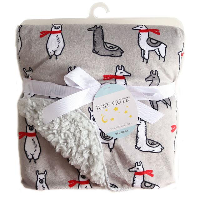 Double Layer Baby Blanket 4