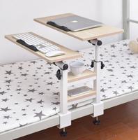 University Dormitory Removable Laptop Table Height Adjustable Notebook Computer Desk Multipurpose Bedside Folding Storage Rack