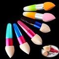 New Womens Striking Cosmetic Makeup Foundation Liquid Cream Concealer Sponge Lollipop Brush Maquillage TOOL Random colour