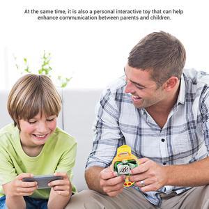 Image 2 - Mini reloj de detección de gravedad coche de carreras de Control remoto 2,4G RC recargable coches de dibujos animados de juguete regalos para niños
