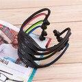 1 шт. USB Виды Летние MP3 Плеера Гарнитура Наушники Наушники TF Слот Новые И Оптовая 2016