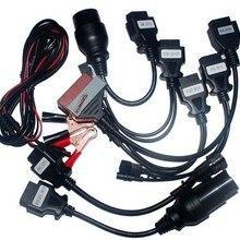 2 комплекта/1 лот! VD TCS CDP pro для автомобильных кабелей(8 кабелей) для tcs(сканер для грузовиков
