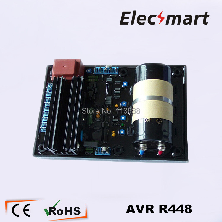 цена на R448 AVR for Generator LEROY SOMER regulators generator voltage
