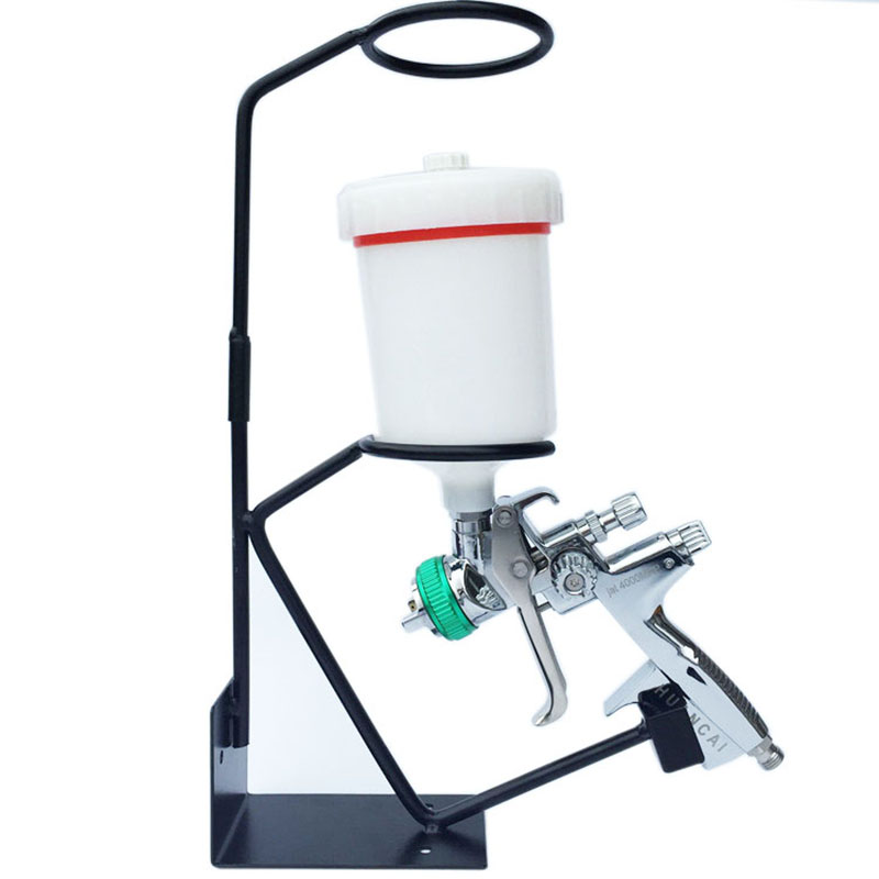 Car Paint Spray Gun Bracket Spray Gun Support Tool Storage Tool Cabinet Storage Rack