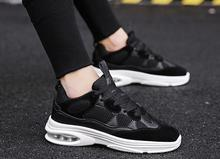 2018 autumn new men's casual shoes with comfortable and breathable wild trend men's shoes