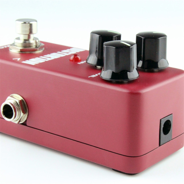 FDS2 Mini and Portable Aluminum Alloy Distortion Pedal Portable Guitar Effect Pedal Guitar Parts & Accessories free shipping