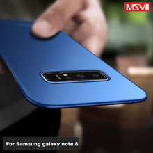 ФОТО note 8 case, msvii hard back cover for samsung galaxy note 8 case ultra thin full protection accessories case for samsung note 8
