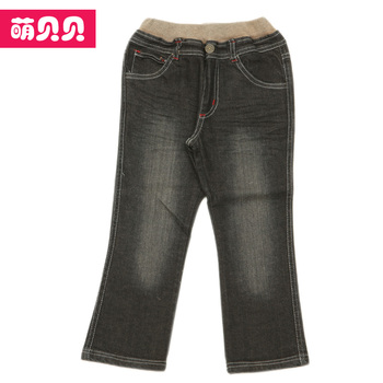 2013 spring and autumn fashion small child jeans pants straight casual pants pencil pants