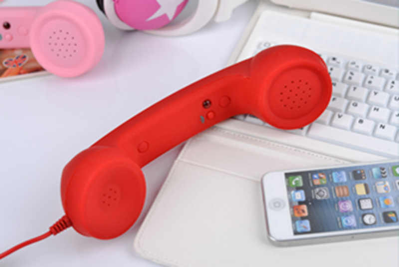 2018 Hot Sale Fashion 3 5mm Mic Retro Telephone Cell Phone Handset Receiver For Iphone 4 4s 5 6 7 Classic Headphone Microphone Fashion Headphones Headphones Fashionheadphones Microphone Aliexpress