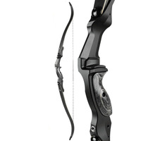 Archery RH/LH Recurve Bow Draw Weight 45lbs 50lbs Alloy Aluminum Handle IBO 190FPS Hunting Bow Arrow