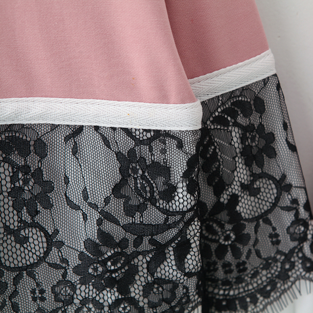 Fashionista Sweat Suite with Lace