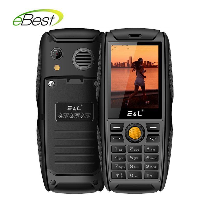 brand new 0c660 c18ac US $29.99 |E&L S200 IP68 Keypad Mobile Phone 2.4 Inches Rugged Phone 2G GSM  Dual Sim Phones Waterproof Shockproof Cell Phones-in Mobile Phones from ...