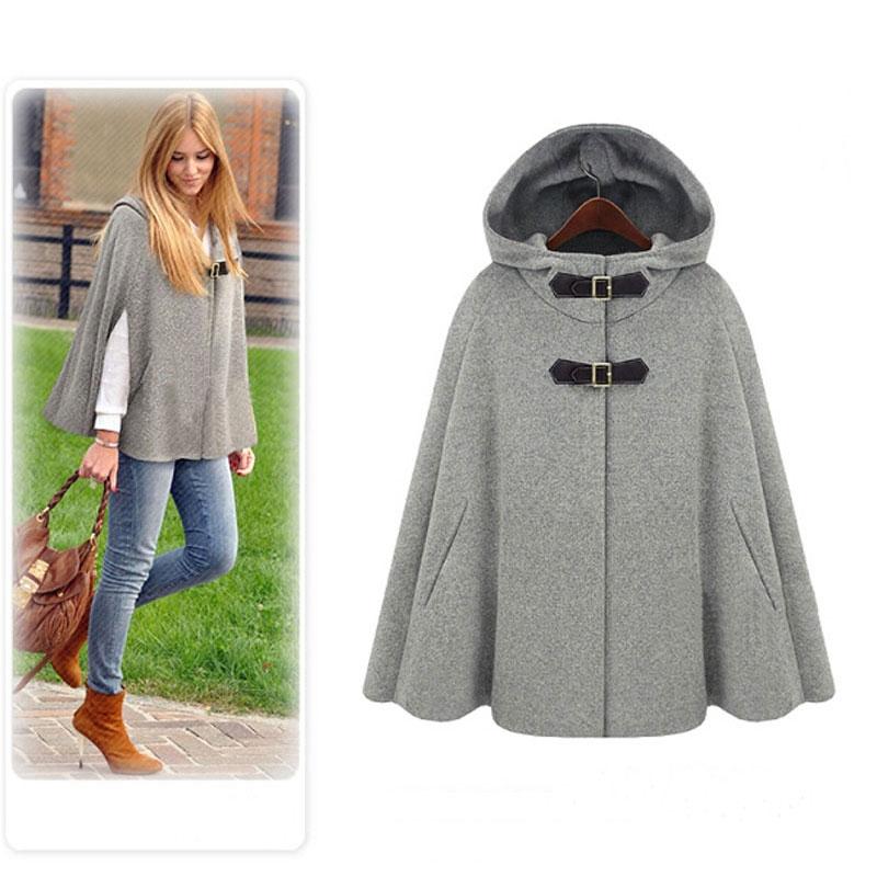 Online Get Cheap Wool Cape Coat -Aliexpress.com | Alibaba Group