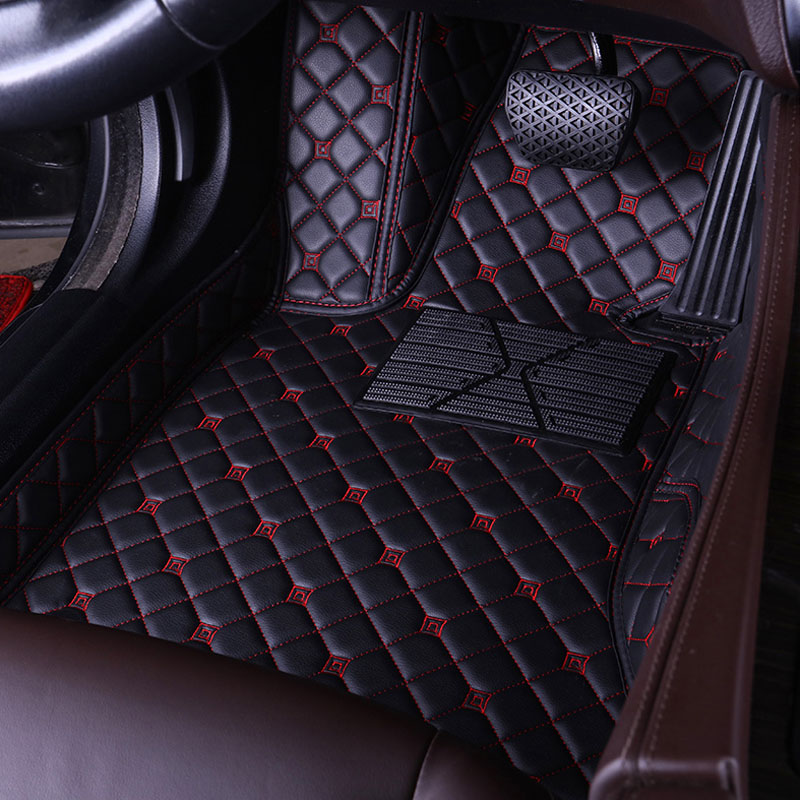 Custom fit Right hand drive/Left hand drive Car Floor Mats For Toyota Land Cruiser Prado 150 120 Driver's seat Car floor Mat
