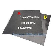 Funssor Cinta de impresión magnética de gran tamaño, para cama, placa de construcción, sistema de placa flexible