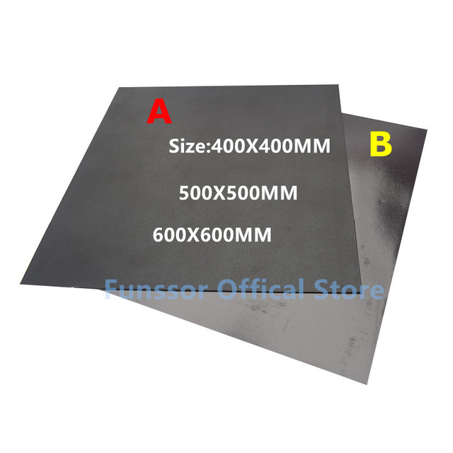 Funssor Grote Maat Magnetische Print Bed Tape Print Sticker Bouwen Plaat Tape Flex Plaat Systeem