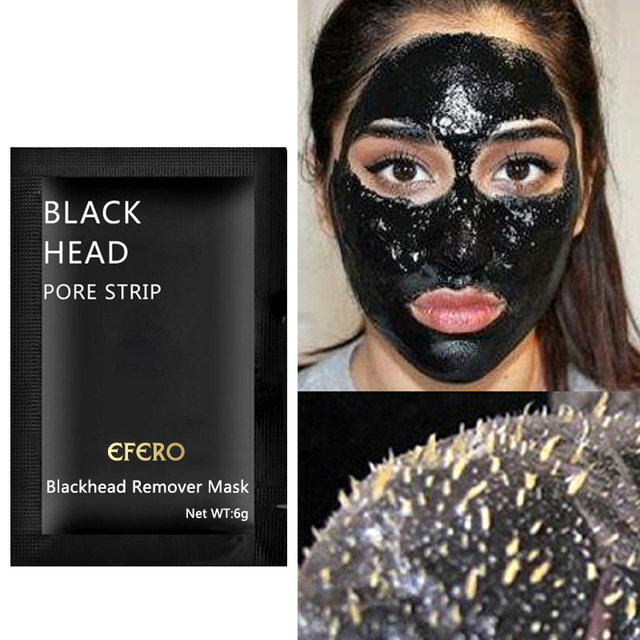 10Pcs Blackhead Mask Face Care Black Mask Nose Blackhead Remover Peeling Mask Pore Strip Cleanser Black Head Mask Acne Treatment