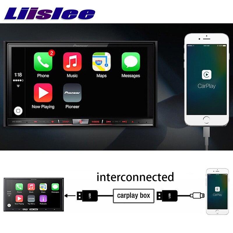 LiisLee Car Multimedia GPS Audio Hi-Fi Radio Stereo For Jaguar S XE X760 2015~2018 Original Car Style Navigation NAVI (2)